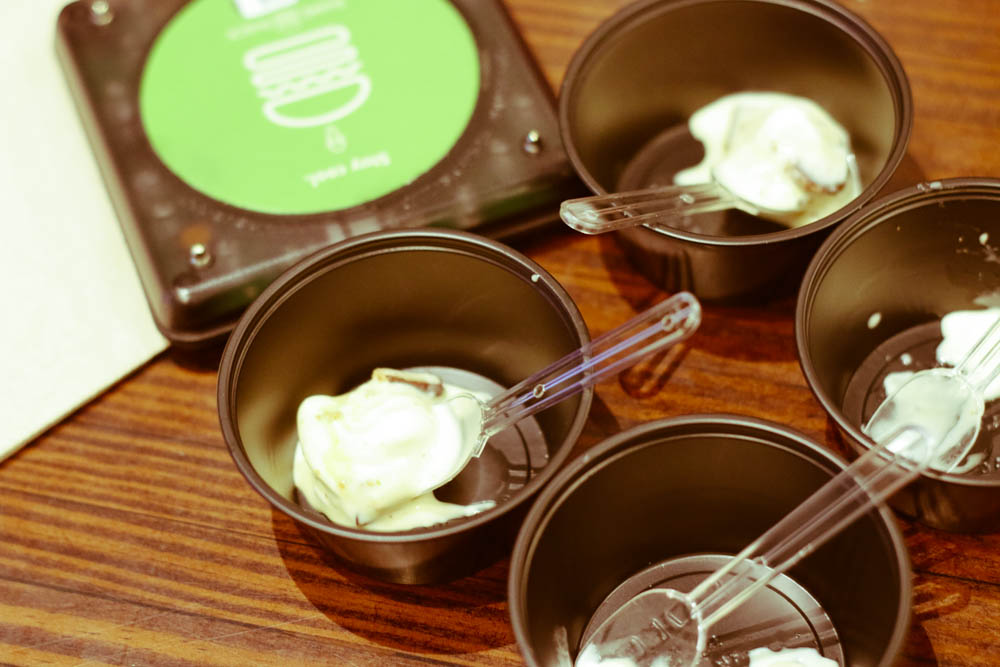 complimentary icecreams at shake shack