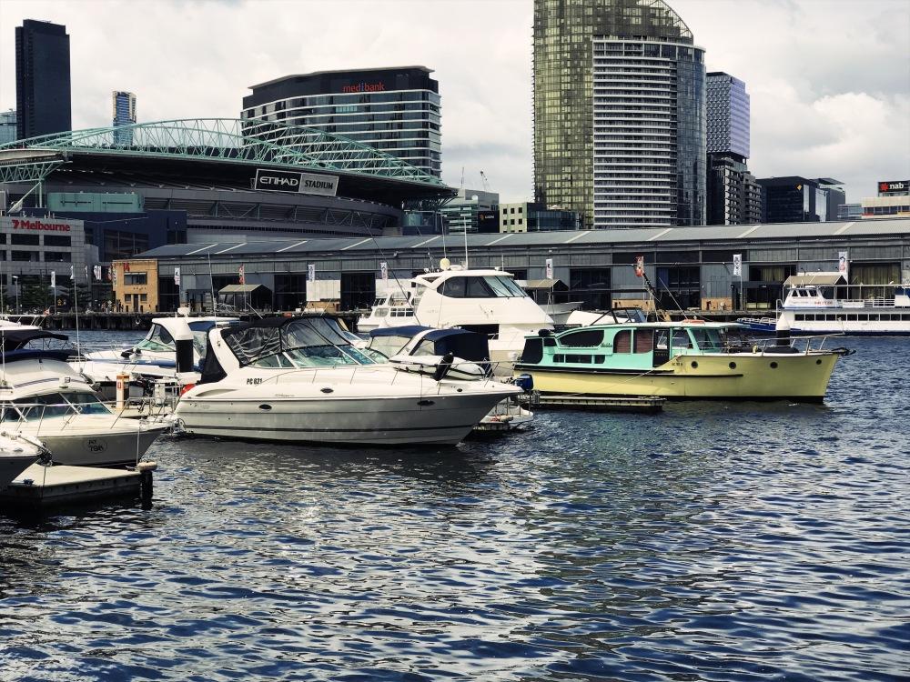 Docklands harbor